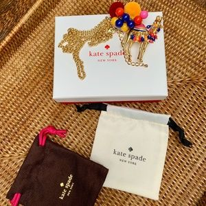 Kate Spade ♠️ Spice Things Up 🐫 Camel Pendant
